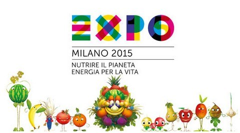 Expo Milano 2015 – Chinese teenagers painting show and exchange activities